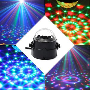 5W Mini Sound Control Laser Projector Stage Light Crystal Ball Night Lamp DJ Club Pub Bar Disco Wedding Party Show Lighting - Kesheng special effect equipment