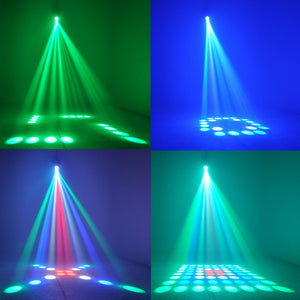Music Active RGBW LED Lights Stage Effect Lighting Club Disco DJ Party Bar - Kesheng special effect equipment