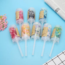 1PC Hand Push Poppers Mixed Tissue Paper Confetti for Wedding Baby Shower Supplies DIY Party Decorations - Kesheng special effect equipment