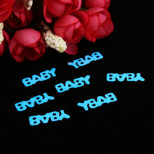 60g BABY Party Confetti Cute Baby Letter Parties Decor Shower Birthday Gift Table Decoration Party Supply Confetti - Kesheng special effect equipment