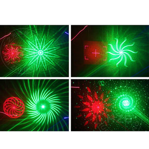 Stage Laser Light Beam DMX 4 Len Red Green Blue DJ Stage Lighting Effect for Party Club Bar Dance Show Laser Lighting - Kesheng special effect equipment