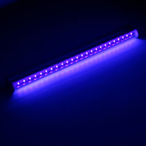 AC85-265V LED UV Black Light Portable 30cm Black UV Light Bar LED Strip Lights Party Club Blacklight Halloween Home Decor US/EU - Kesheng special effect equipment