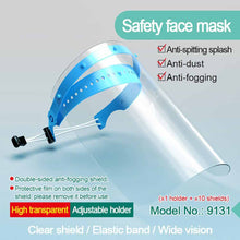 Anti-flu face Mask Pet / Polyester Multi-Function Anti-Dust And Anti-Fog Mask Face Protection Isolation Mask 1 Set face shied - Kesheng special effect equipment