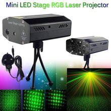 Fantastic Led Laser Light party Star Projector Outdoor Garden Decoration Waterproof Red Green Showers Lawn Static For KTV Party - Kesheng special effect equipment