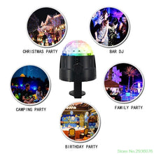 Mini LED Stage Light Magic Effect Rotating Laser Lighting Lamp Multicolor Disco Ball For Bar Home Party Decoration - Kesheng special effect equipment