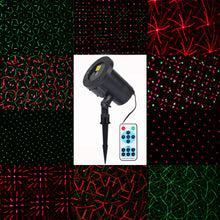 Mini RF Remote Red Green Laser Projector Lights Sparkling Star Xmas Holiday Light DJ KTV Home Party Dsico LED Stage Lighting - Kesheng special effect equipment