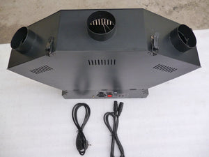 47M. DMX control 3 heads fan shape flame projectors - Kesheng special effect equipment
