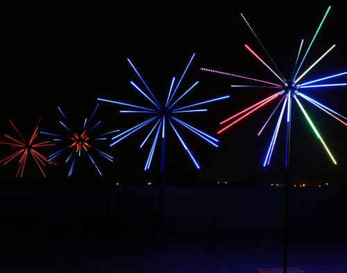 LED FIREWORKS LIGHT - Kesheng special effect equipment
