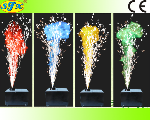 SF007-COLOR-1 Reusable DMX control COLOR COLD PYRO machine - Kesheng special effect equipment