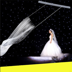 100-240V Remote control Double motor Flying wedding veils Romantic wedding props - Kesheng special effect equipment