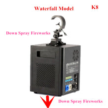 110V 220V Remote Control LED Sprayer Cold Fireworks Wedding Bar Atmosphere Props Stage Lights DMX Electronic Fireworks Machine - Kesheng special effect equipment