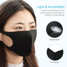 Fast delivery Reusable Face Masks Anti Dust Masks Unisex Breathable Earloops Face Mouth Cover Face Regular Protective anti virus face Mask - Kesheng special effect equipment