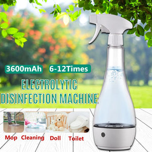 Portable USB 84 Disinfection Water Electrolytic Disinfection Machine Hypochlorous Acid Disinfection Water Maker Home Supplies - Kesheng special effect equipment
