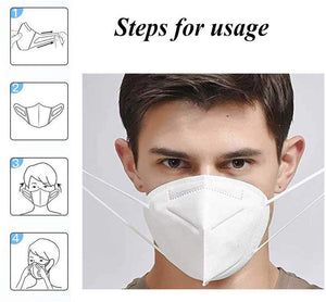 5/10/20PCS KN95 FFP2 anti virus medial Masks Disposable Protective Face Mask Individual Package Anti Dust Mask Safety Mouth Mask Protection filter - Kesheng special effect equipment