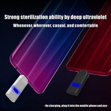 UVC LED Sterilizer Disinfection Portable Bactericidal Sterilization Mini Home Ultraviolet Lamp - Kesheng special effect equipment