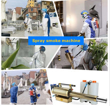 Fogger Disinfection ULV Sprayer Insecticide Atomizer Mosquito Killer Portable Fogging Machine for Farm Office Industrial 16L - Kesheng special effect equipment