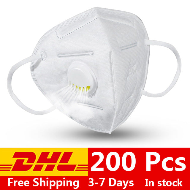 Surgical kn95 mask Breathable Flu Hygiene Face Masques 95% Filtration Respirator Safety Protective FFP3 FFP2 Anti virus Masks - Kesheng special effect equipment