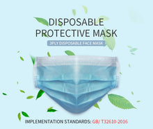 Medical Face Mask 3 Ply Non Woven Disposable Masks 3 Layer Dust-Proof Safety Masks - Kesheng special effect equipment