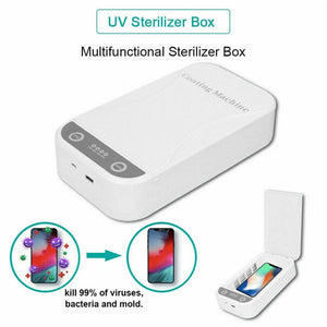 UV Light Sterilizer face masks Jewelry Phones Cleaner Personal Sanitizer Disinfection Cabinet with Aromatherapy Esterilizador - Kesheng special effect equipment