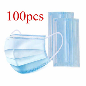 In stock Disposable Masks 10/50 pcs Mouth Mask 3-Ply Anti-Dust FFP3 FFP2 KN95 Nonwoven Elastic Earloop Salon Mouth Face Masks - Kesheng special effect equipment