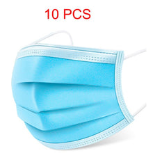 mask cotton 10pc/20pc/100pc Anti-Bacterial 3-Layer Filter Cap Barrier Dust-Proof Facial Masks For Long Time Suing kids mascaras - Kesheng special effect equipment