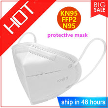 Hot Sale KN95 Dustproof Anti-fog And Breathable Face Masks N95 Mask 95% Filtration Features as espirator ffp3 maska test n95  ma - Kesheng special effect equipment