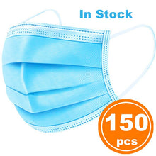 In stock 50 Disposable Face Mask 3-Ply Protective Non-woven Disposable Elastic Mouth Soft Breathable Hygiene Safety Face Masks - Kesheng special effect equipment