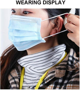 In Stock! 50Pcs Disposable Masks FFp3 Face Mouth Masks 3-Ply Nonwoven FFP3 FFP2 KN95 N95 Masks Dust-proof Masks - Kesheng special effect equipment