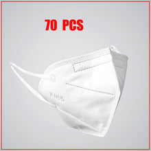 50 Pcs KN95 PM2.5 Anti-fog Protective Masks With filter 95% Respirator Reusable N95 Protective Mask ffp2 Flu Anti Infection Mask - Kesheng special effect equipment