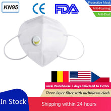 3/5 Layers KN95 95% Filtration Respirator Face Mask CE FDA Valve N95 Protection Dust Masks Anti-Fog Antibacterial Filter PM2.5 - Kesheng special effect equipment
