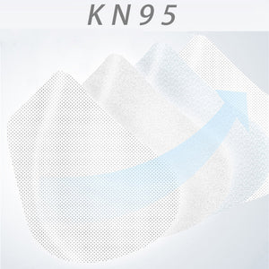 KN95 Masks Anti Pollution Dust Face Mask Respirator Washable Reusable Masks Unisex Mouth Muffle Allergy FFP3 FFP2 50pcs - Kesheng special effect equipment