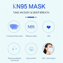4 PCS KN95 CE Certification Face Mask N95 FFP3 Mouth Mask Anti-Dust Anti Smog Strong Elastic Earloop Salon Mouth Face Masks - Kesheng special effect equipment