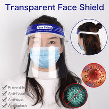 Transparent Virus Dust Face Mask Shield Visor Eye Protection Safety Work Guard Cycling Face Mask Anti Droplet Dust-proof - Kesheng special effect equipment