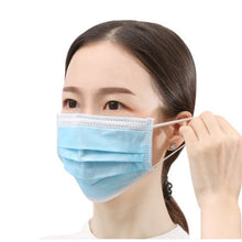 20pcs Hot Sale mask mouth blue Face Mask 3-layer Non Woven mouth masks virus Disposable Anti-Dust  face mask medical masks - Kesheng special effect equipment