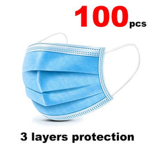 20pcs In stock Fast delivery Disposable mouth protective face mask Adult use Three-layer meltblown cloth combination Masks - Kesheng special effect equipment