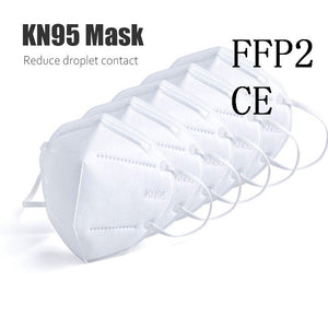 50pcs Mask KN95 Anti-virus Mask Anti-dust Masks Standard mask Haze Riding Protective Masks Anti-particles CE certification - Kesheng special effect equipment