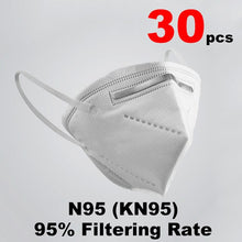 In stock PM2.5 KN95 Mask Filtration Anti-virus Mask Anti Bacterial Dust Protection against Droplet FFP2 N95 Mask Reuses Masque - Kesheng special effect equipment