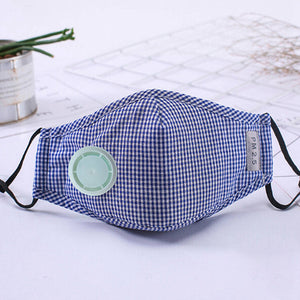 Anti Pollution Mask Dust Respirator Washable Reusable Masks Cotton Unisex Mouth Muffle For Allergy/Travel/ Cycling Flu Face Care - Kesheng special effect equipment