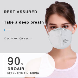 Disposable Masks 10/50 pcs Mouth Mask 4-Ply Anti-Dust FFP3 FFP2 KN95 With Valve Nonwoven Elastic Earloop Salon Mouth Face Masks - Kesheng special effect equipment