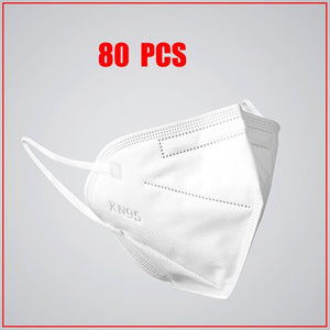 50Pcs Face Mask N95 Anti Influenza Anti-fog Mouth Masks Kn95 95% Same Protective as KF94 FFP2 DHL Free Shipping  mask 100 - Kesheng special effect equipment