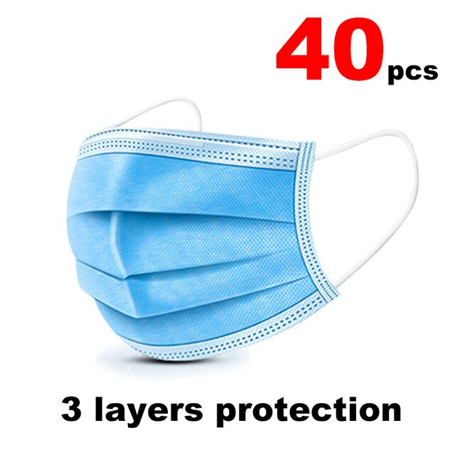 FFP2 N95 kn95 Mask Bacteria Proof Anti Infection 6 Layers Anti PM2.5 Safety Dust Mask Face Masks Particulate Mouth Respirator - Kesheng special effect equipment