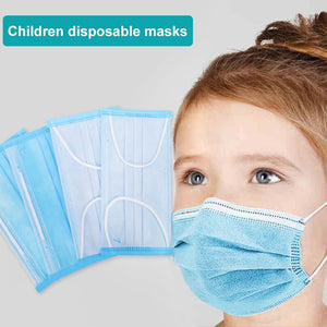 Disposable Elastic Kids Mouth Mask 3 Layer Soft Breathable Anti Flu Hygiene Child Kids Face Mask Dropshipping - Kesheng special effect equipment