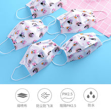 Cartoon 10/100PCS Child Kids Disposable Face Masks 3 Layer Anti-Dust Masks Fabric Non Wovens Dustproof Unisex Mouth Masks Kawaii - Kesheng special effect equipment