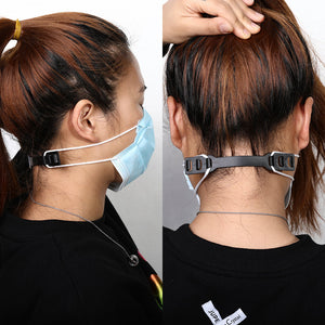 Face Mask Rope Hook Save Ear for Adult Children Kids  Adjustment Extension Loop Comfort Buckle Holder 95 M N FFP 2 3 Adjustable - Kesheng special effect equipment