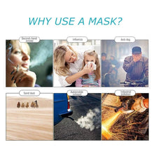 IN STOCK!Dust-Proof FFP3 N95 Masks Mouth Mask Anti Pm2.5  Disposable Face Mask For Kids Adult Filter Mask - Kesheng special effect equipment