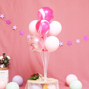 7 Tubes Balloons Stand Balloon Holder Column Confetti Balloon Baby Shower Kids Birthday Party Wedding Decoration Supplies - Kesheng special effect equipment