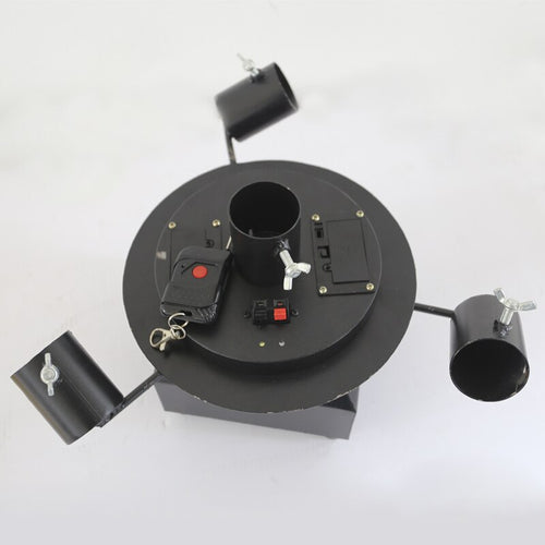 Rotate Cold Spark Firework Machine Wireless Remote Indoor Outdoor Fountain Fireworks for Wedding Christmas Party Stage Equipment - Kesheng special effect equipment
