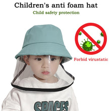 Children Protective Cap Anti-dust Anti-fog Face Cover Cap Reusable Cotton TPU Windproof Baby Fisherman Basin Hat Security Safety - Kesheng special effect equipment