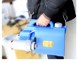 220V 1000W Electric ULV sprayer Portable Fogger Machine Disinfection Machine Ultra Capacity Spray Machine Kill Pests Fight Drugs - Kesheng special effect equipment