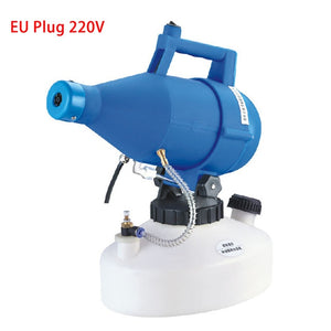 110/220V Electric ULV Fogger ULV Ultra Low Capacity Cold Fogging Machine 1400W Portable Electric Spray Disinfection Machine 4.5L